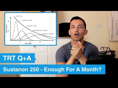 Is Sustanon 250 Enough For A Month? TRT Q+A