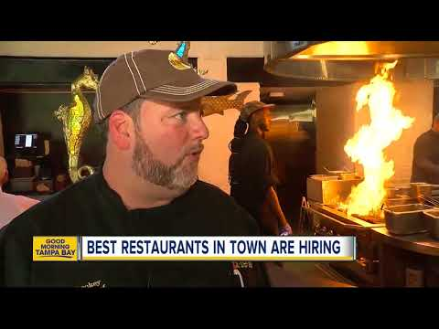 Tampa Bay's best restaurants need good workers due to historically low unemployment numbers