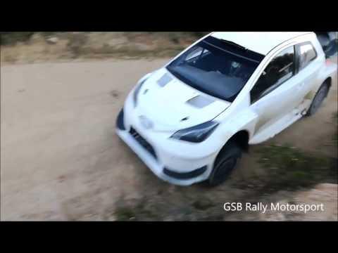 Test in Sardegna Jari Matti Latvala Toyota Gazoo Racing WRC