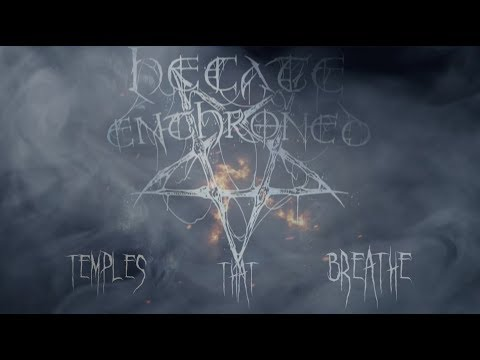 Hecate Enthroned - Temples that Breathe (Lyric Video)