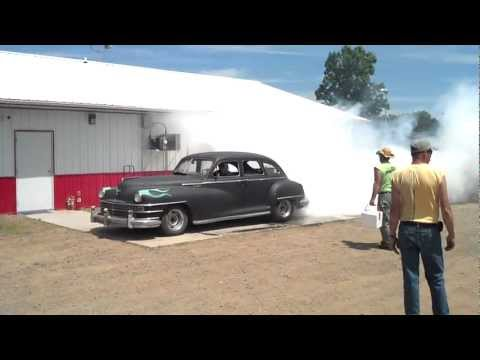 Burnout Contest At Eagle Valley Speedway
