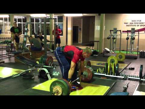 Gerd Kanter - 2x160kg clean