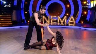 DWTS 6: 4ο Live | Μαρία Κορινθίου & Ηλίας Μπούτσης {16/2/2018}