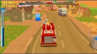 Пожарная машина мультик. Приключение маленьких пожарных. Пожарные тушат пожар #мультфильмы