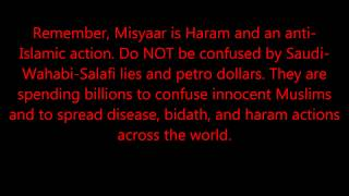 Misyaar (Misyar) is HARAM - Stop Wahabi/Salafi Lies and Perversion