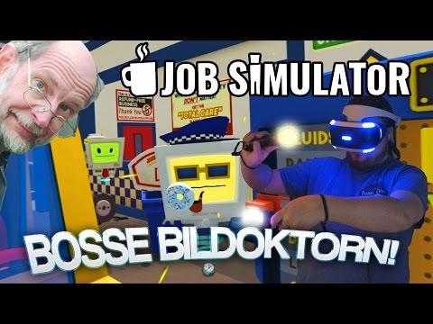 BOSSE BILDOKTORN! | Job Simulator (Playstation VR)