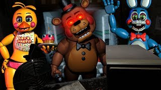 FREDDY IS COMING TO GET ME! - Five Nights at Freddy's VR: Help Wanted - FNAF Survival