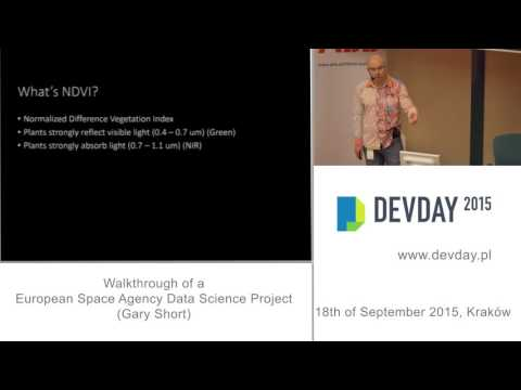 Gary Short - Walkthrough of a European Space Agency Data Science Project