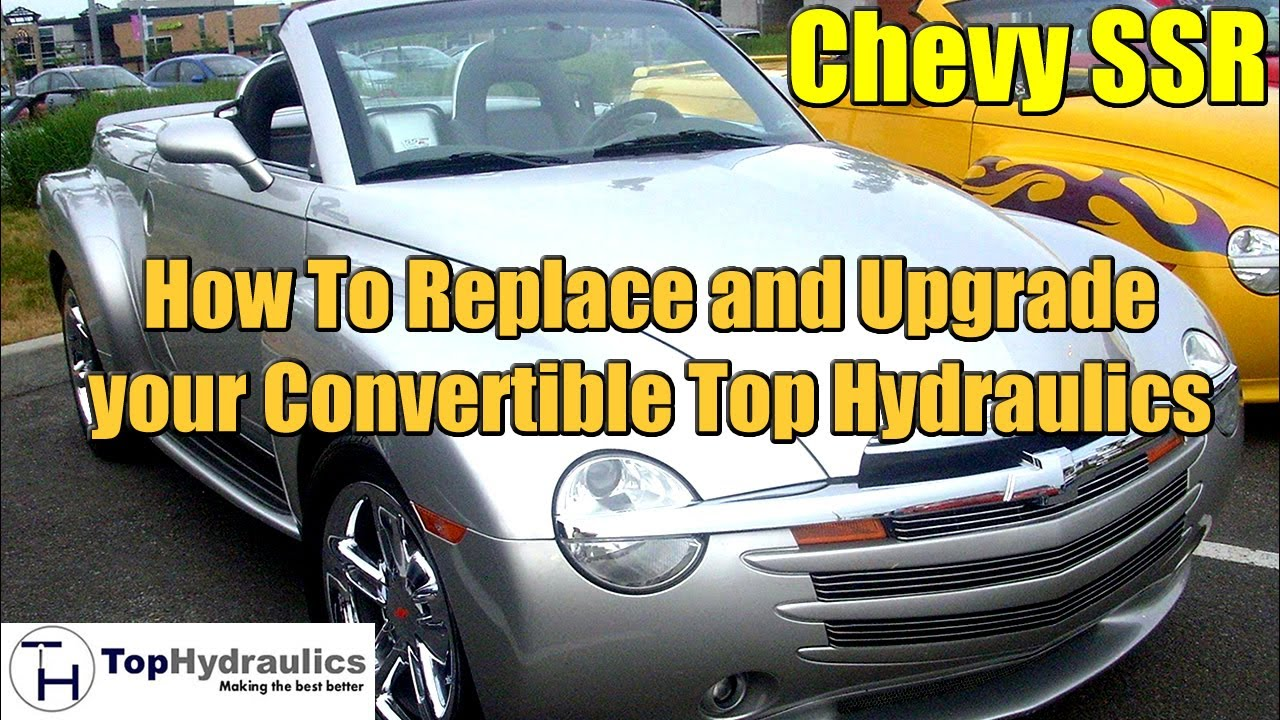 Chevy Ssr Top Hydraulic System Replacement Chapter 4 Stowage Cover Lock Cylinder Youtube