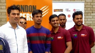 Mustafizur Rahman having fun with local Bangladeshi in London (Video)