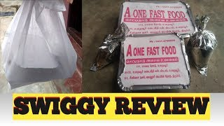 Swiggy review   A one fast food   Trichy   food review