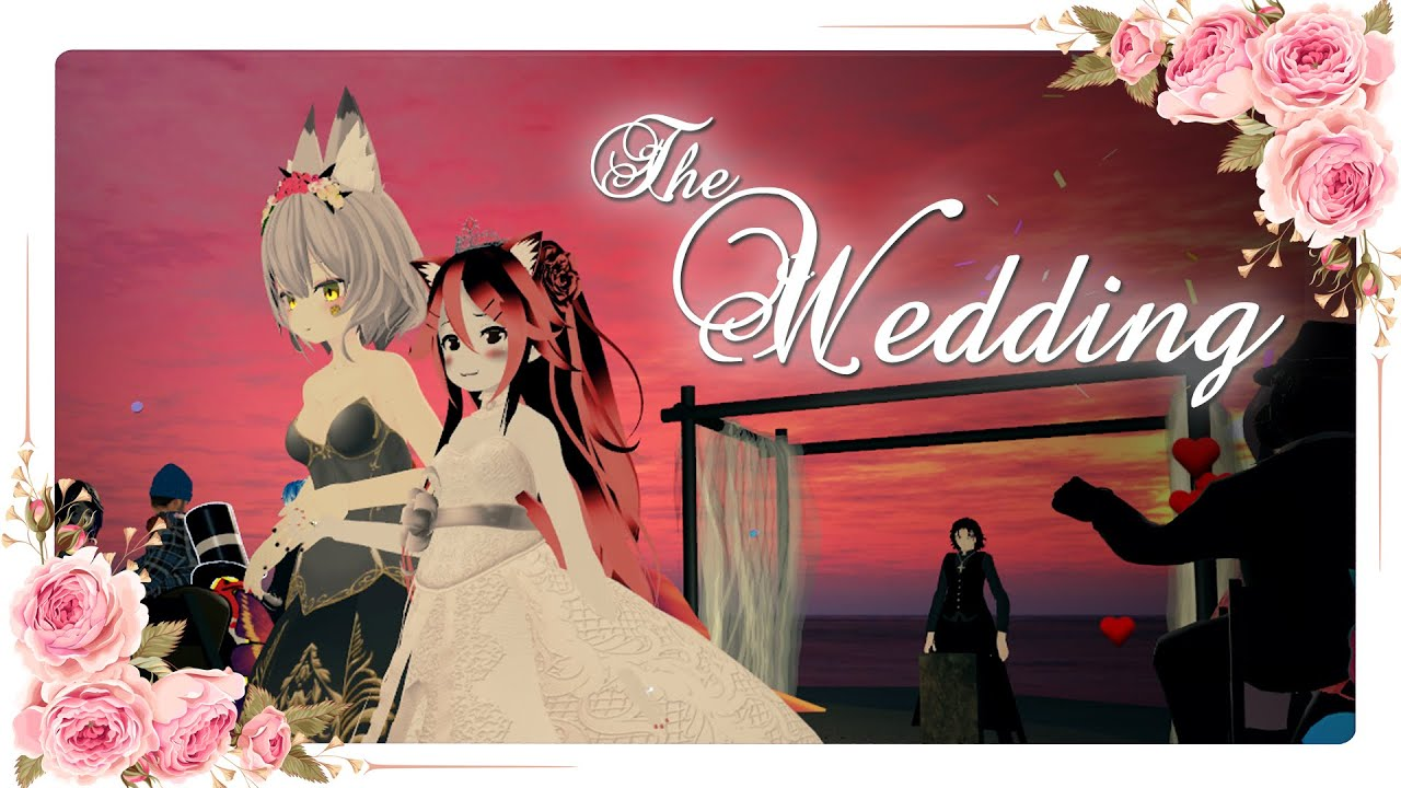 The Greatest Wedding in VR | Megonica Marriage | Megamem3 & VRonica | VRChat's Most Wholesome Moment