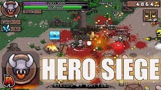 Hero Siege - Jogos IOS - Incrível jogo com incrível PIXELART! JOGO EM PROMOÇÃO CORRA!