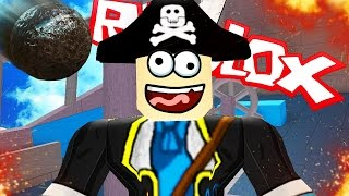 LET'S BLOW UP THE PIRATE SHIP! - Roblox