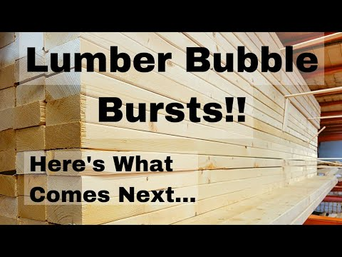 Download The Lumber Bubble Has Burst!  Here's What Happens Next...