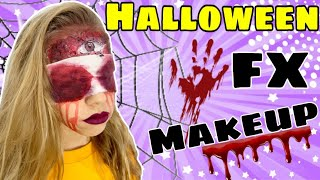 Increíble MAQUILLAJE de TERROR para HALLOWEEN 2019 - Makeup for halloween 2019