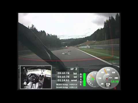 Koenigsegg One:1 records 2:3214 at Spa-Francorchamps