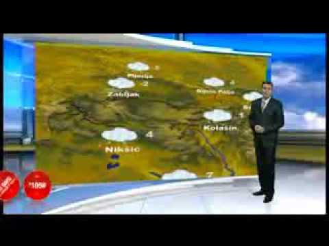 Tv Vijesti Meteo Branko Micev Najavljuje Snijeg Za Podgoricu