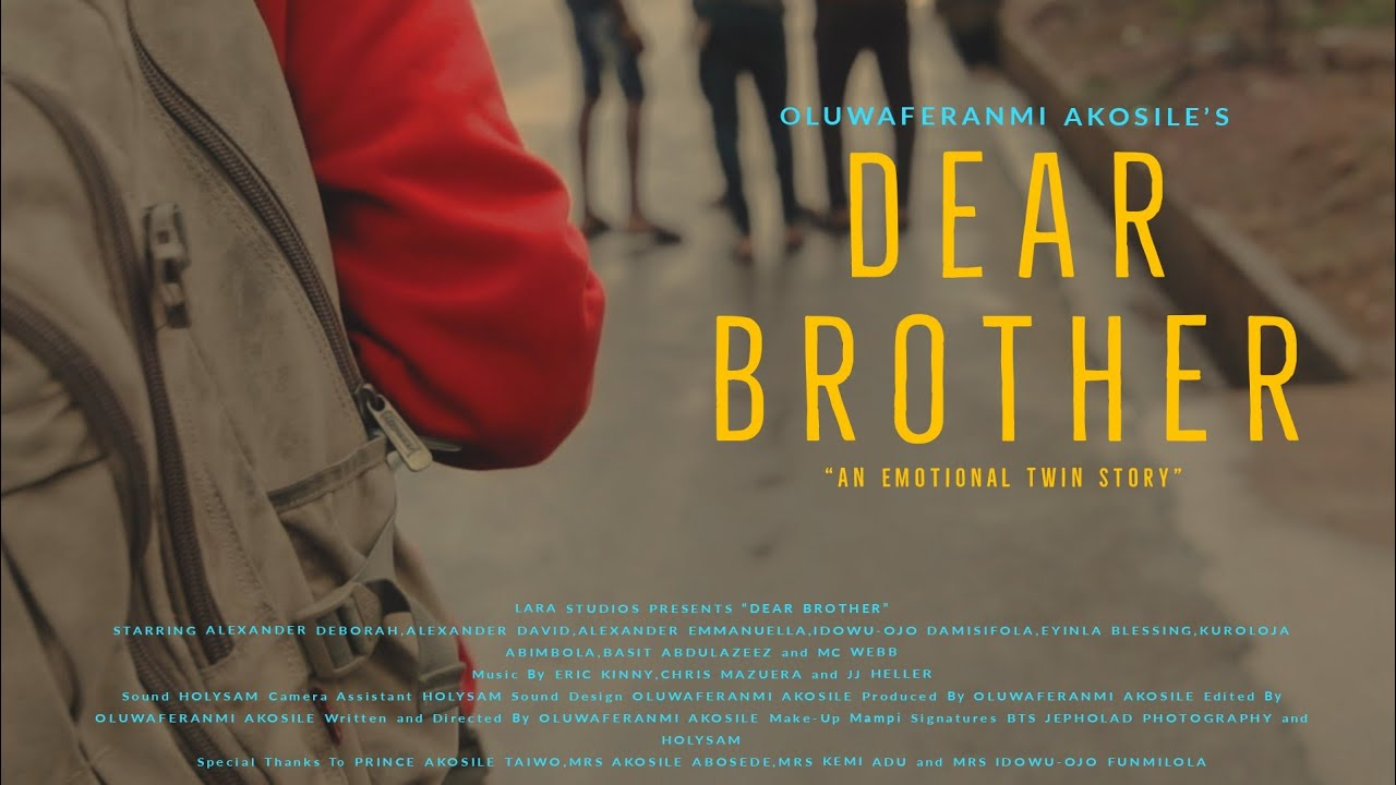 Dear Brother -  My RØDE Reel 2020 Short Film