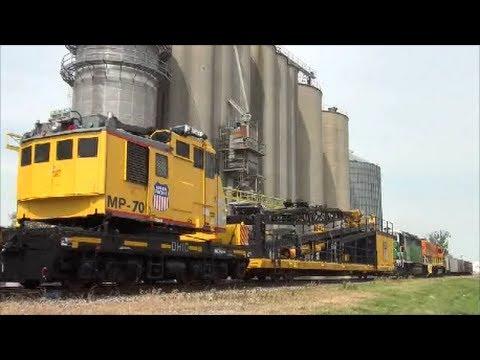 CF&E 3023 Union Pacific Locomotive Crane  UPRR # MP-70 American & Ohio Locomotive Crane Co, Inc