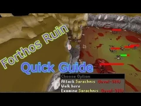 In Search of Knowledge Miniquest Quick Guide - Forthos Ruins - OSRS