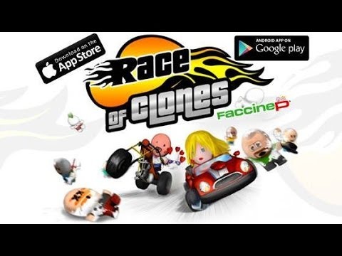 Faccinep Race of Clones Android GamePlay Trailer (HD) [Game For Kids]