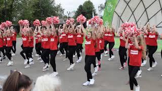 День Российского флага Флешмоб школа танцев \Гран Па\.