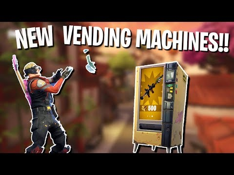 All Vending Machine Locations In Fortnite! | Vending Machines Explained!