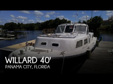 Used 1986 Willard 40 Captain Personnel for sale in Panama City, Florida