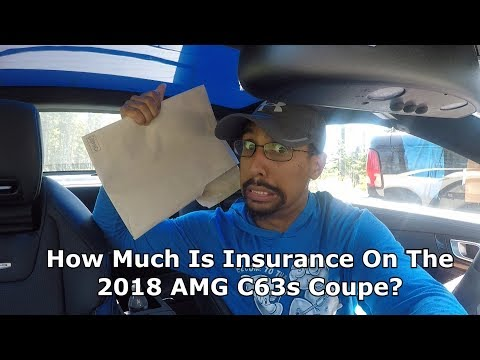 2018 C63s Coupe How Much Is The Insurance?!