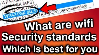 [HINDI] - what are wifi security standardrs & which is best for you ( wep/wpa/wpa2 )