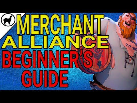 How to Complete a Merchant Alliance Voyage |  Merchant Alliance Beginner's Guide | Sea of Thieves