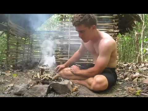 Вопрос: Как построить хижину в лесу?