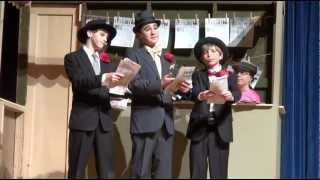 Johnny DiGiorgio as Rusty Charlie Singing Fugue For Tinhorns in Guys and Dolls - Horse Right Here