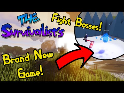THE SURVIVALISTS IS FINALLY HERE! || BRAND NEW RPG GAME! | Roblox |