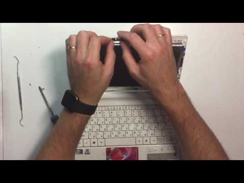 Замена матрицы в Acer One D270