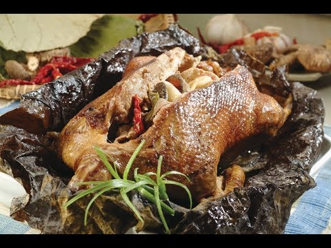 Steamed Duck In Lotus Leaf #Quick & Easy Dishes Series #1_R2