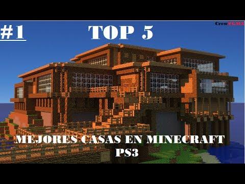 Participa top 5 mejores casas de minecraft ps3 youtube - Fotos de las mejores casas ...