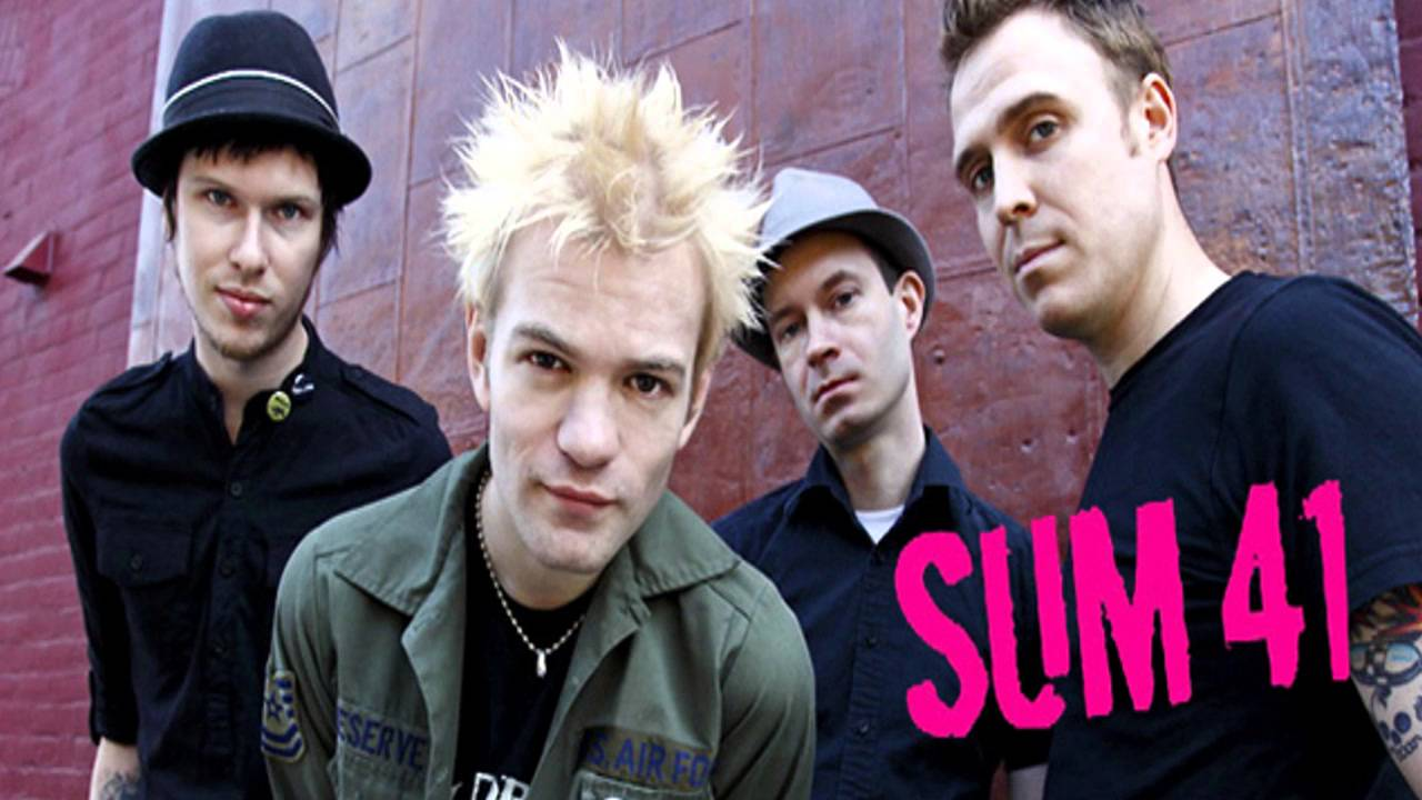 the hell song sum 41 guitar backing track with vocals youtube. Black Bedroom Furniture Sets. Home Design Ideas