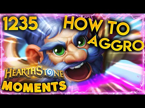 The MOST IN DEPTH Aggro Tutorial For Pros | Hearthstone Daily Moments Ep.1235