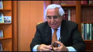 השר לשעבר מר משה שחל מודיע ליצחק שמיר  על  חתימת הסכם השלום