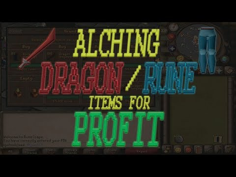 Alching Dragon & Rune Items For Profit