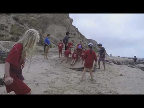 Beach Adventure Camp - Crystal Cove, Newport Beach, CA 2017