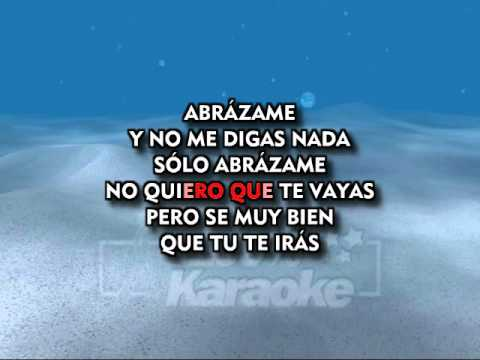 Julio Iglesias   Abrázame   Karaoke MM