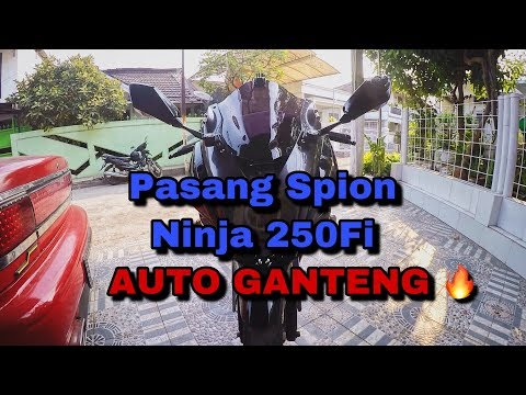 Tutorial pasang kaca spion Ninja 250Fi di Kawasaki Ninja RR New 150
