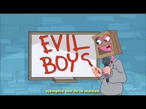 Son niños malos - Phineas y Ferb (letra)