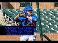 Victor Caratini, C, Chicago Cubs — Catcher Blocking Video
