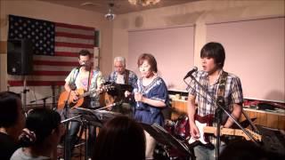 2013.7.14(日) 七夕ライブ! くまおホール ギター 西山太郎 ギター 堀...