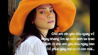 Có Những Nuối Tiếc lyrics - Hồ Ngọc Hà