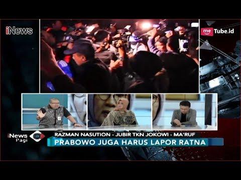 Razman Nasution Heran Prabowo Tak Laporkan Langsung Ratna Sarumpaet - iNews Pagi 05/10